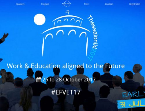#EfVET17 Open for Registrations!