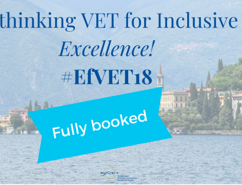 EfVET Annual Conference 2018: fully booked