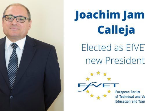 Joachim James Calleja elected as EfVET new President