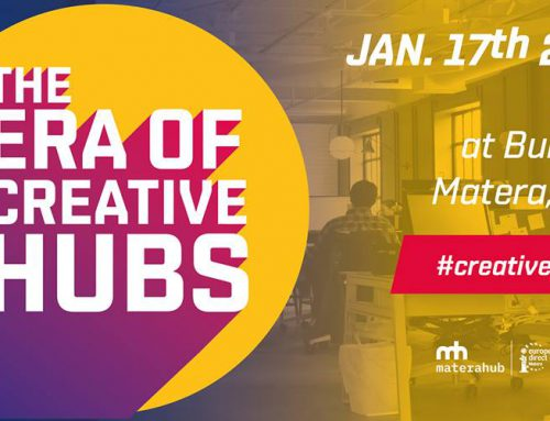 The era of creative hubs: Matera European Capital of Culture
