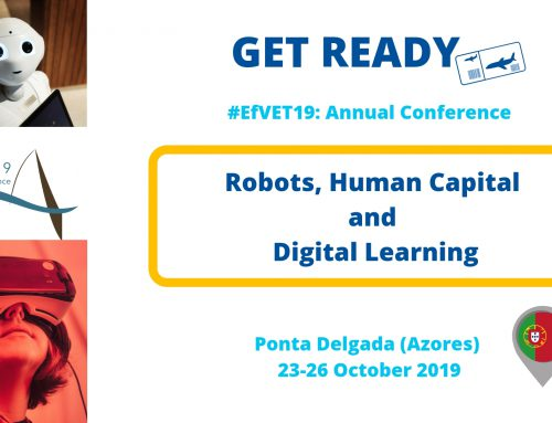 EfVET Annual Conference on Robots, Human Capital & Digital Learning