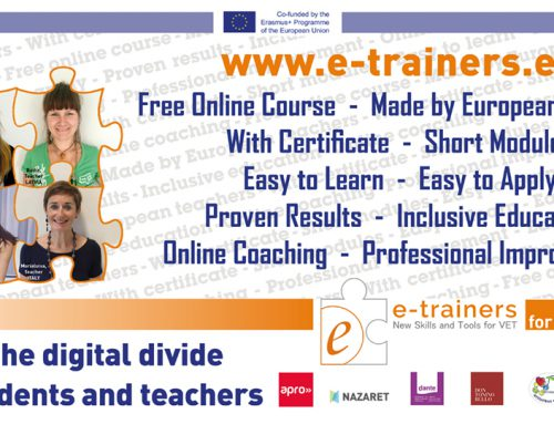 E-TRAINERS – Bridging the Digital Divide between Students and Teachers