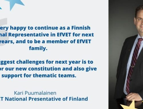 Kari Puumalainen re-elected national representative of Finland