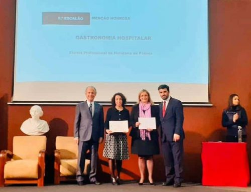 """Hospital  Gastronomy"" awarded from the Ministry of Education in Portugal and the Foundation Ilídio Pinho"