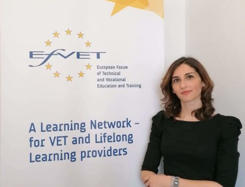 EfVET has appointed a new staff member, Vittoria Valentina Di Gennaro