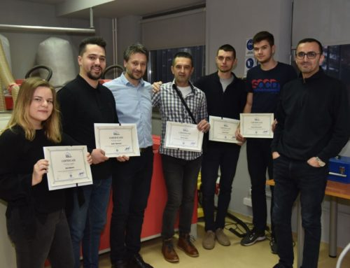 IUS Lifelong Learning Center organised a CNC training in Bosnia and Herzegovina