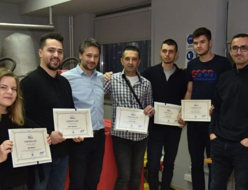 IUS Lifelong Learning Center organised a CNC training in Sarajevo