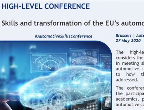DRIVES project: High-Level Conference on EU's automotive sector skills organised at the European Commission