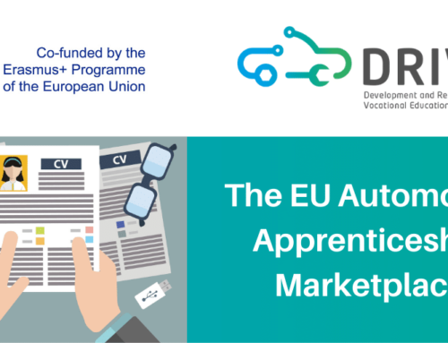 A new publication for the project DRIVES: The EU Automotive Apprenticeship Marketplace summary report