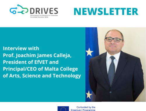 DRIVES Project Quarterly Newsletter – Issue #6 March 2020 is out!