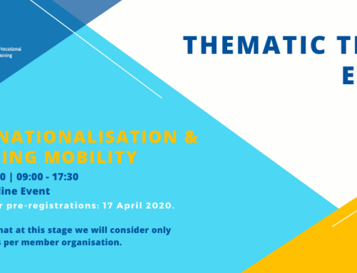 SAVE THE DATE: EfVET Thematic Team Event 2020 open for pre-registrations