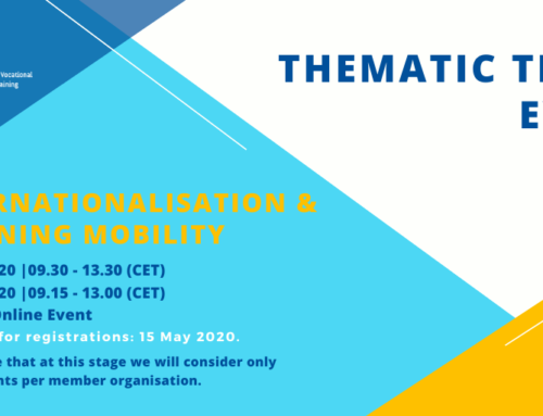 EfVET to host the first Thematic Team Event 2020 on June 3 and 4