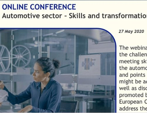 DRIVES Webinar: Automotive Sector – Skills and Transformation