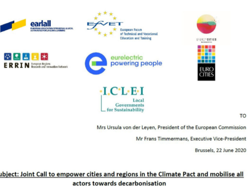 EfVET joins call for Climate Pact empowerment and decarbonisation