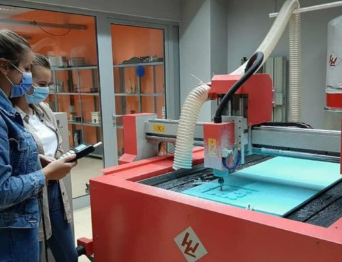 CNC training organised by IUS Lifelong Learning Center