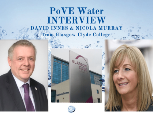 PoVE Water project: Interview to partners from Glasgow Clyde College