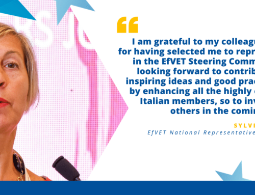 A new EfVET National Member will represent Italy within EfVET Board
