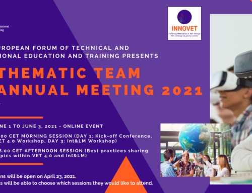 SAVE THE DATE: EfVET Thematic Team Annual Meeting 2021
